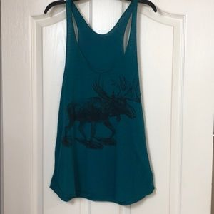 American Apparel moose tank
